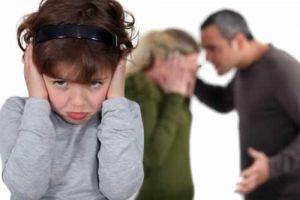 ребёнок, родители ругаются