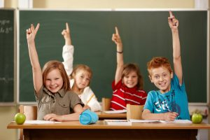 школьники в классе