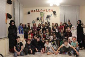 английское погружение, Хэллоуин