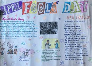 Работа группы №102, преподаватель Аглиуллина Римма Фаритовна, название работы April's fun